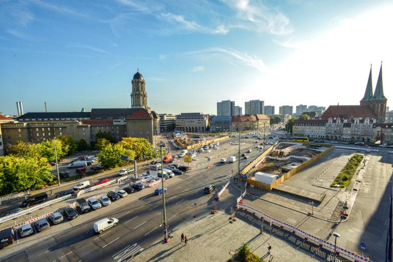 Grunerstraße mit Molkenmarkt