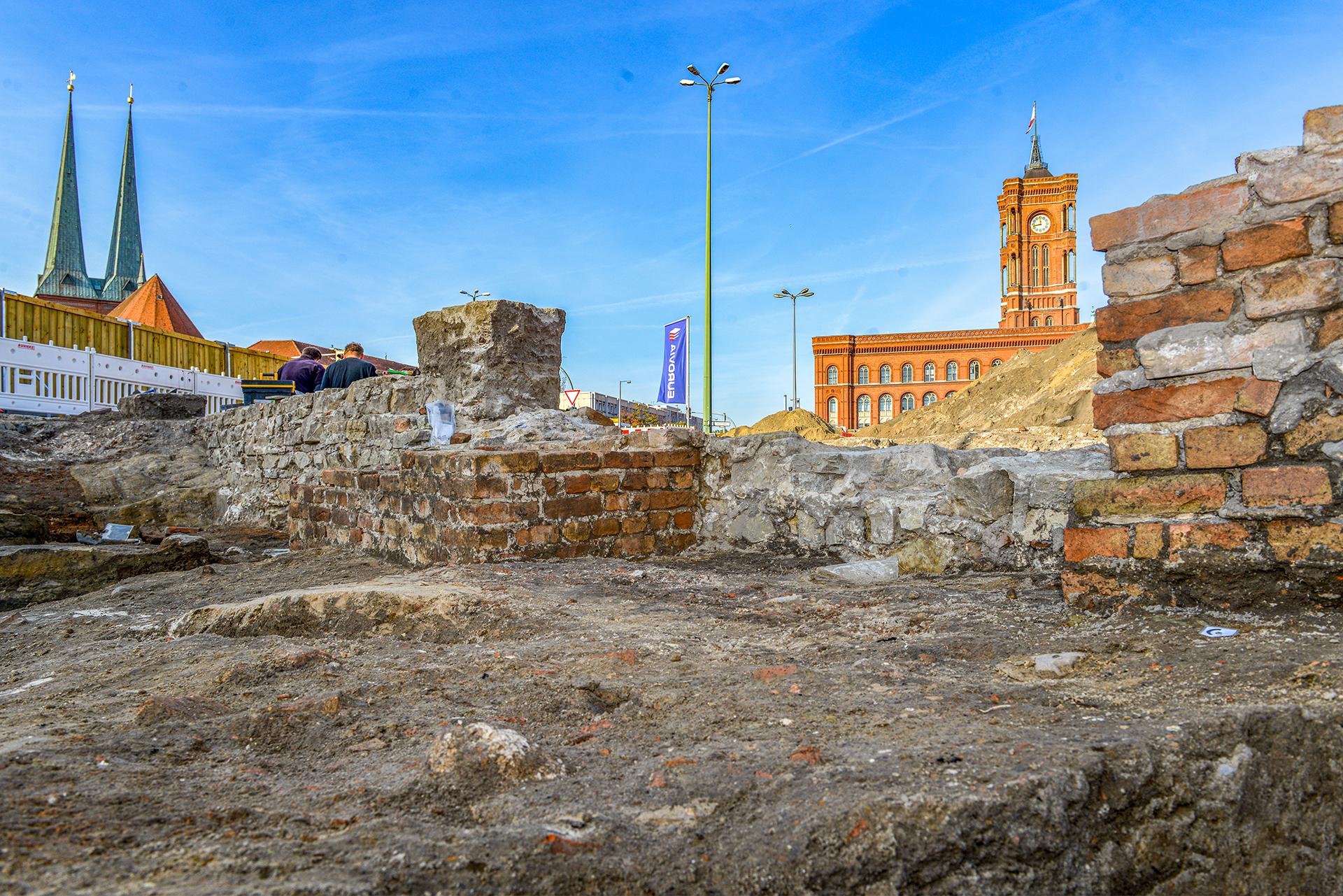 Archäologische Grabungen am Molkenmarkt