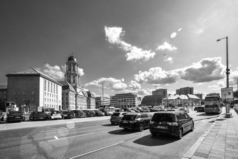 Grunerstraße mit Altem Stadthaus