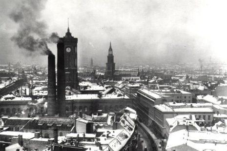 Blick zum Roten Rathaus, 1920